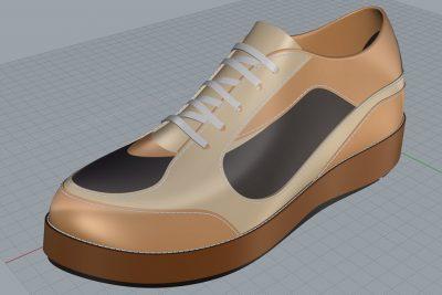 آموزش طراحی و مدلسازی کفش با راینو